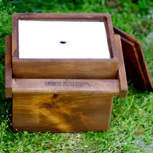 木製のクーラーボックス3