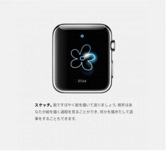 Watch Digital Touchスケッチ