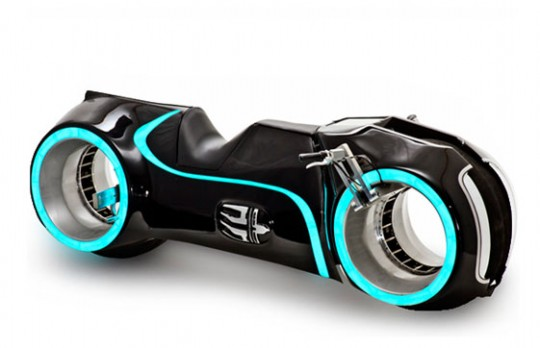 Tronの電動バイク