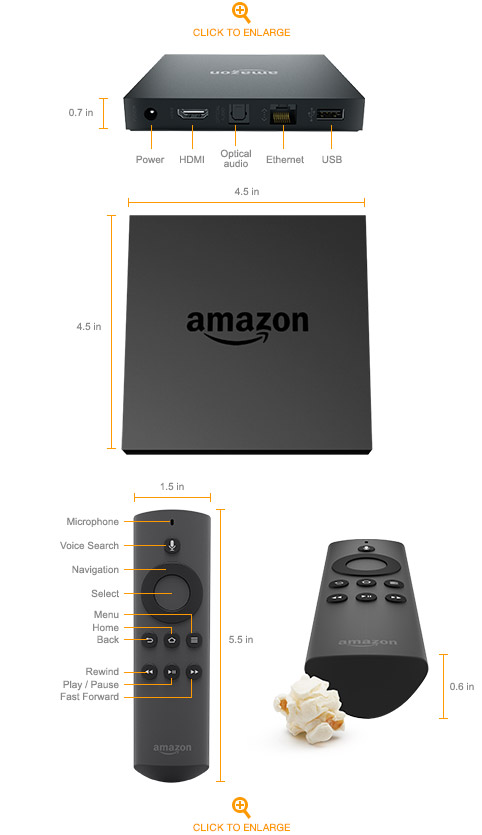 amazon Fire TVの外観