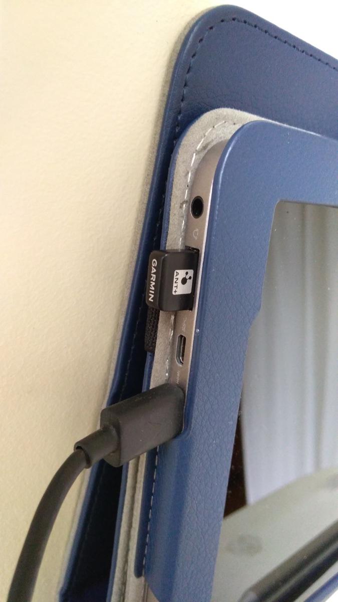 ガーミンのANT+USBドングルをASUSのWin10タブに挿して、Tacx Neo 2 SmartでZwift_[0]