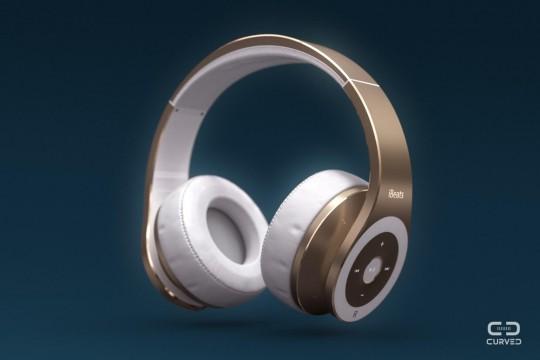 """AppleがBeatsのヘッドフォンを作るとこうなる""""ibeats""""コンセプト2"""