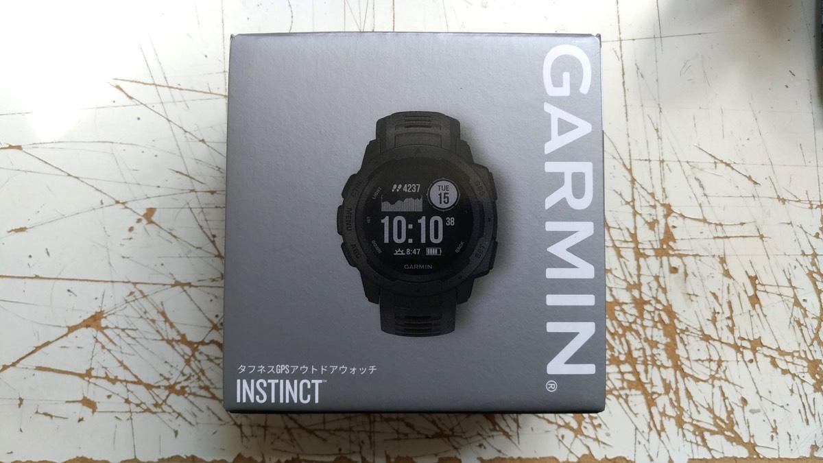 Garmin Instinct 外箱1