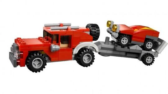 レゴ31005コンストラクションキャリアのキャリア版