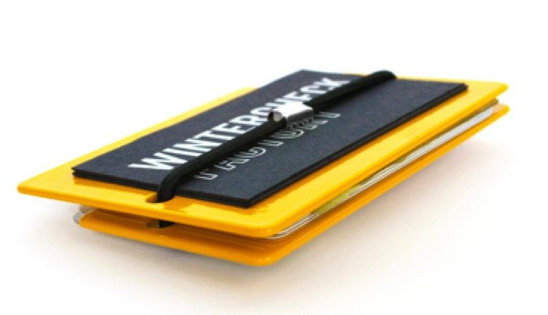 マネークリップCONSOLIWALLET : YELLOW GLOSS