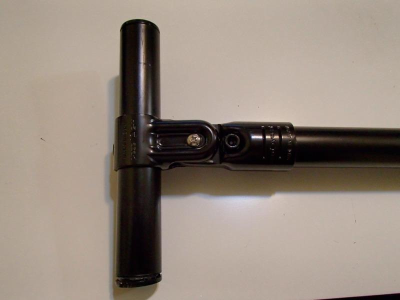 エレクターの角度調節ジョイントをM4ボルトで可動部化