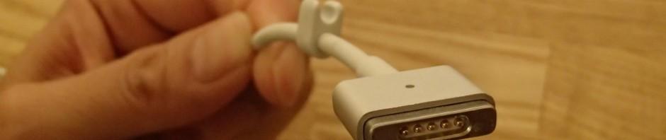 MacBook AirのMagSafeコネクタ