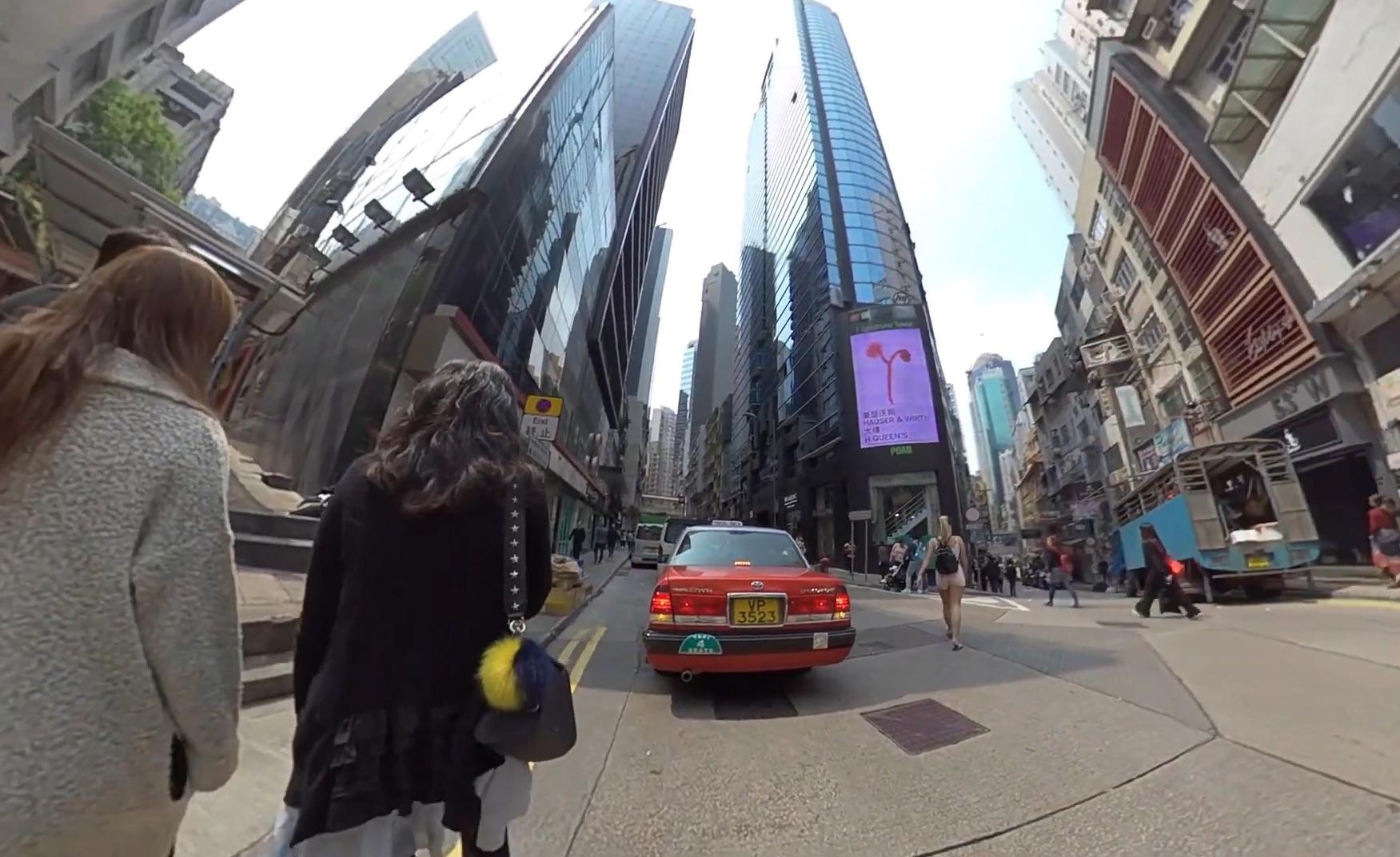 香港 ビルの間が狭い1