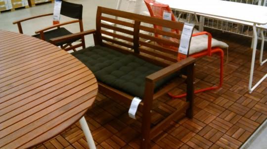 IKEA 屋外ベンチAPPLAROエップラロー1