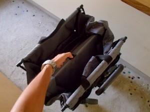 コストコのカート 折り畳み