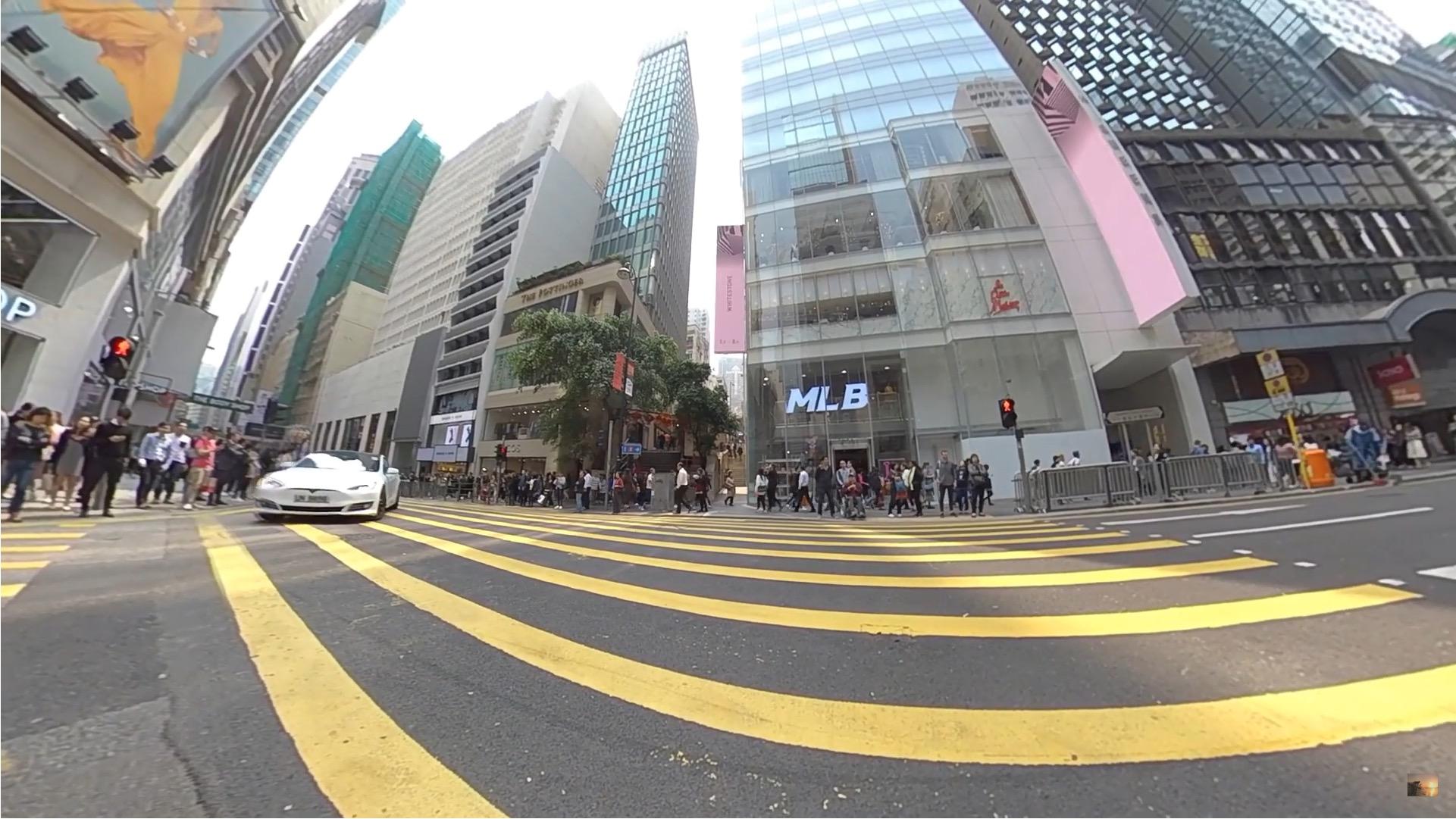香港 中環 人が多い2