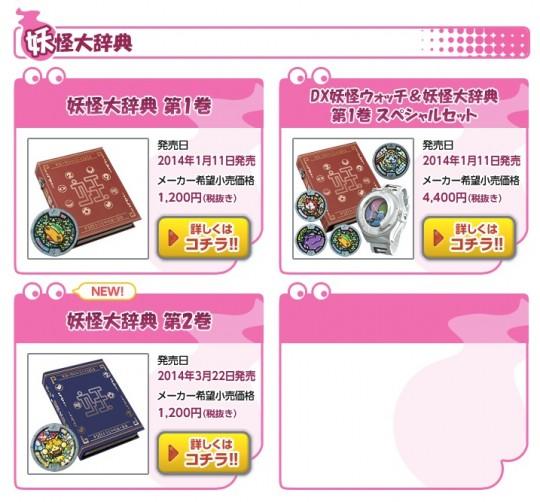 妖怪大辞典のメーカー希望小売価格120円