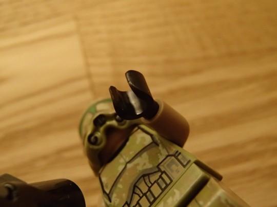 レゴのキャッシーク・クローン・トルーパーズKashyyyk Troopersの手