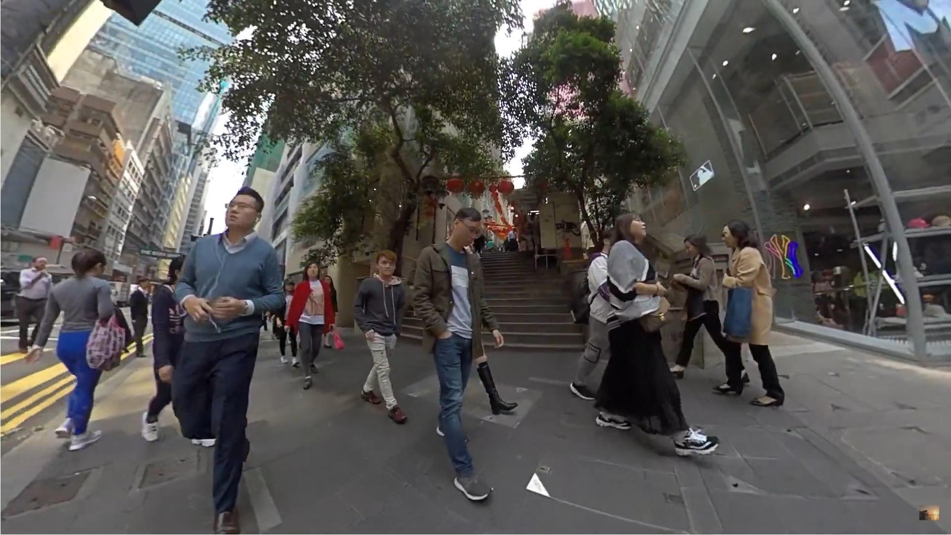 香港 中環 人が多い1