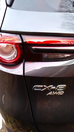 CX-8 AWD リアエンブレム