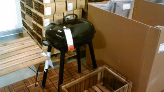 IKEA BBQグリルLILLON1