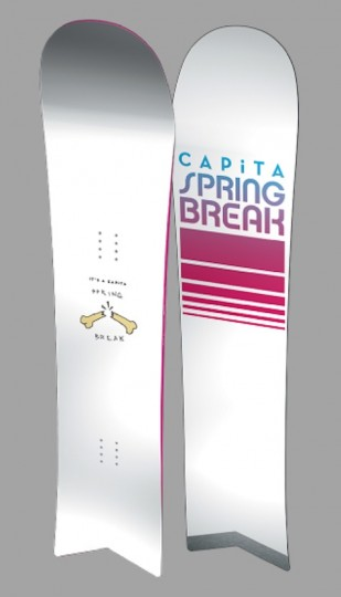 CAPiTA SPRING BREAK SLUSH SLASHER グレー