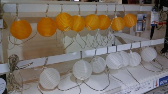 IKEA 提灯のようなアジアンテイストのミニLED照明SOLVINDENソルヴィンデン