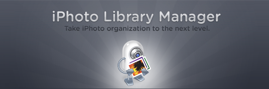 Fat Cat Softwareというところが作っているiPhoto Library Manager