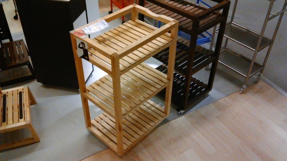 IKEA カウンターワゴンMOLGERモルゲル2