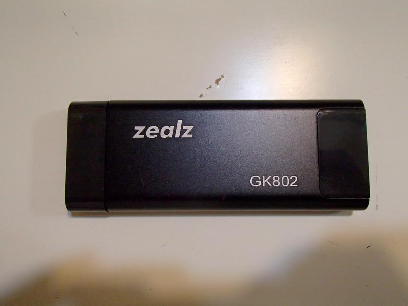 HDMI接続スティック型Android端末,Zealz GK802本体