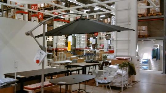 IKEA ハンギングパラソル300cmKARLSOカールスオー2