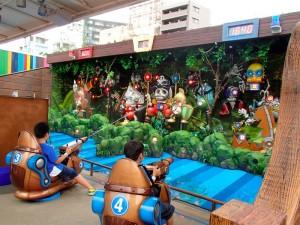 東京ドームシティ アトラクションズ ウォーターキャノン