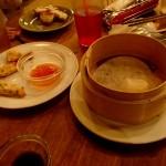 モンスーンカフェ 渋谷店 蒸しエビ焼売とタイエビトースト