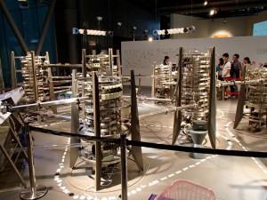 日本科学未来館 ネットワークのモデル