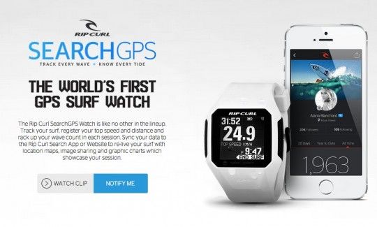 RIP CURL SEARCH GPS2