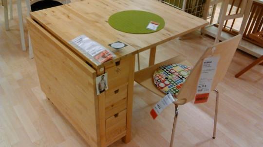 IKEA ドロップリーフテーブルNORDEN:VILMAR ノールデン:ヴィルマル1