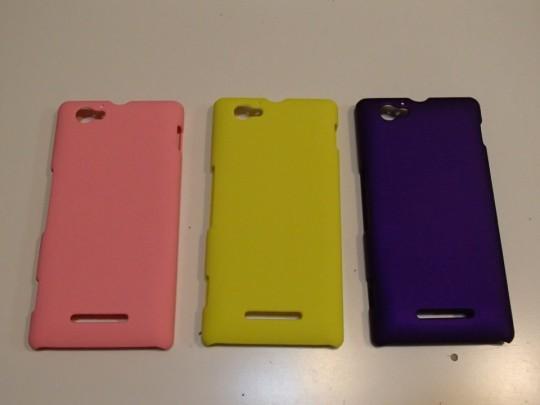 Xperia M Dual C2005用ケース 3色