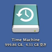 Time Machineアイコン