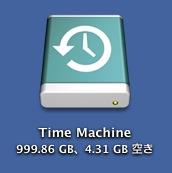 Time Machineアイコン