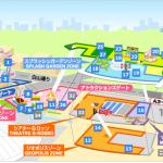 東京ドームシティ アトラクションズ エリアマップ