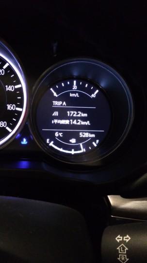 CX-8の納車2週間での走行距離と平均燃費