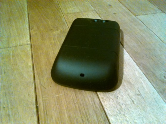 ETC WildfireにMugen Powerの3600mAhバッテリを付けてみた 背面から
