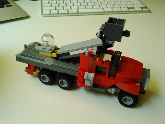 レゴ31005コンストラクションキャリア3