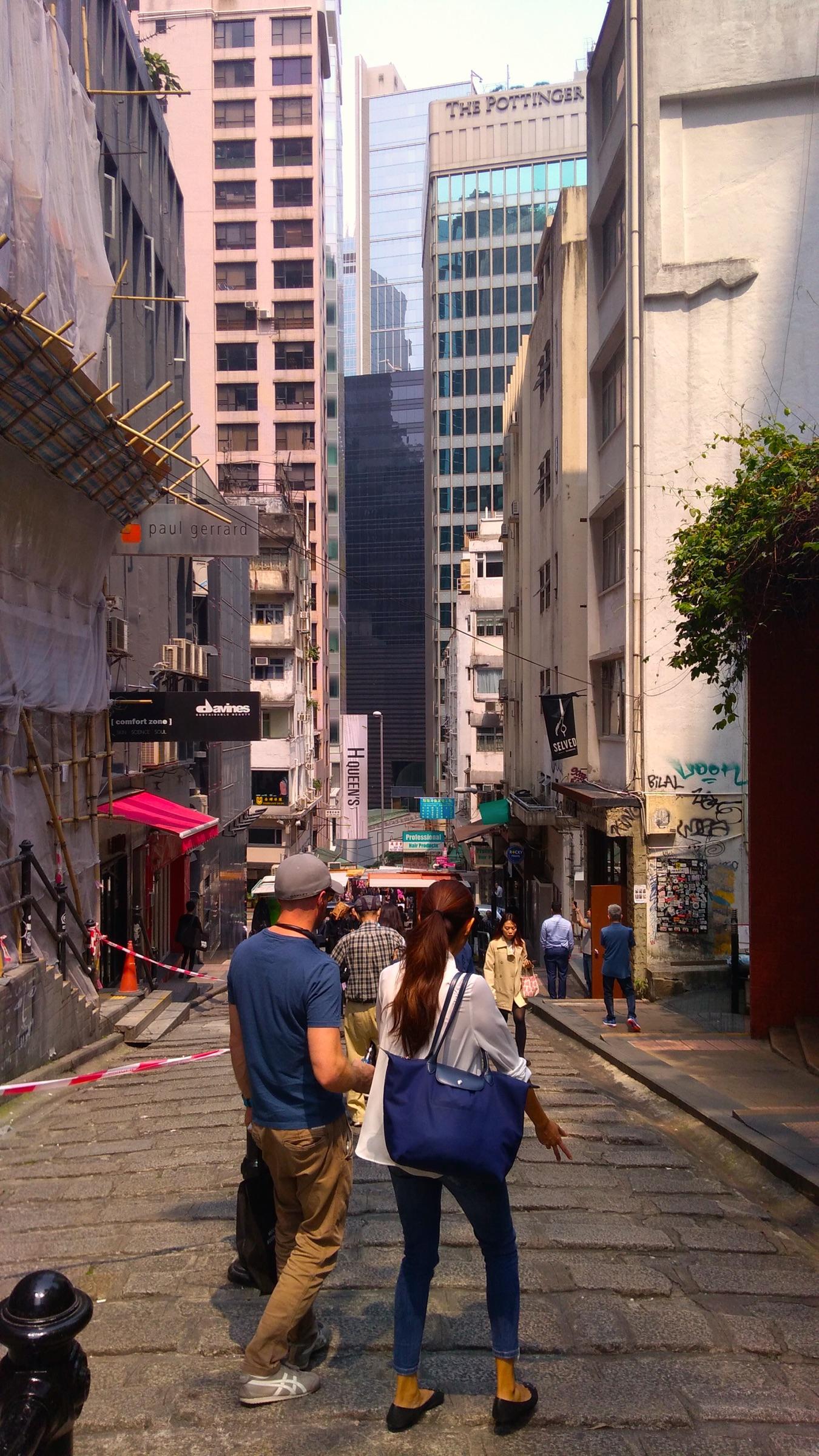 香港 中環の古い街並1_[0]