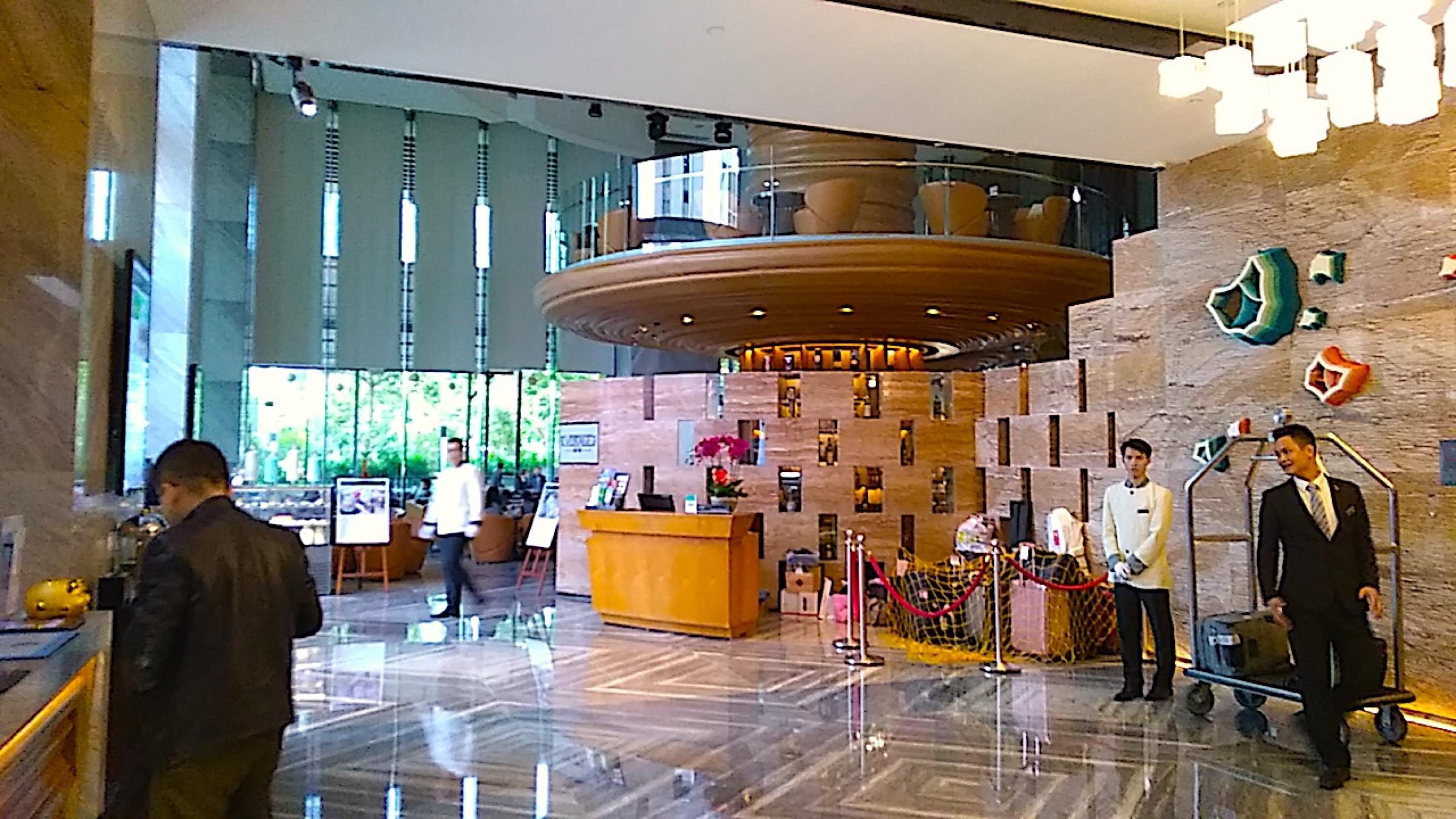 中国 深セン 福田 ウィンダム・グランド・ホテルのロビー Shenzhen Futian Wyndham Grand Hotel_[0]