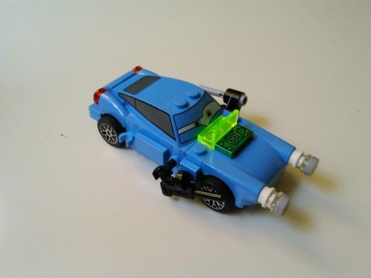 レゴ9480 カーズ2 マックミサイル1