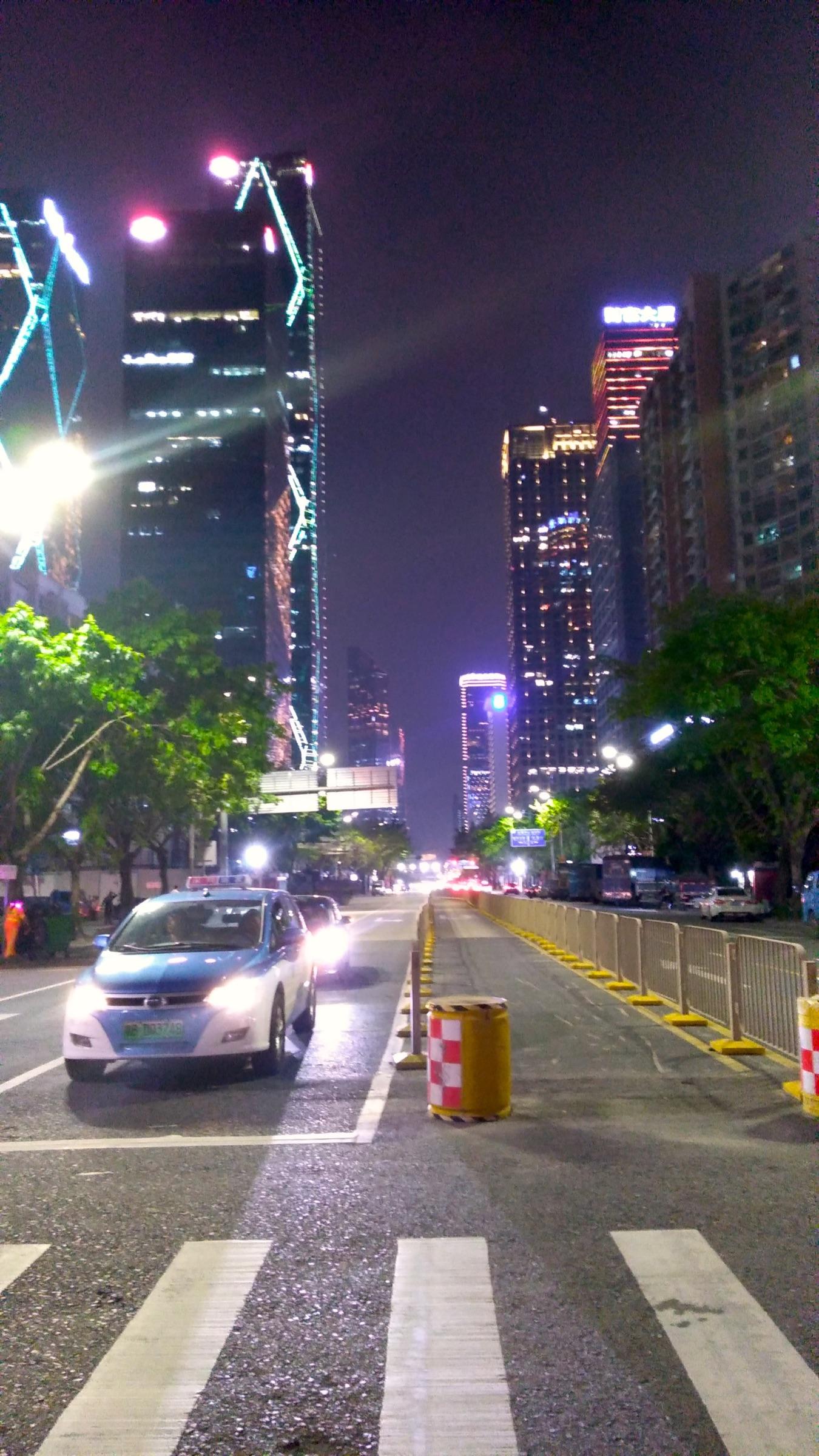 中国 深セン 福田 夜景5 Shenzhen Futian_[0]