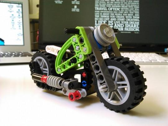 レゴテクニック8260トラクター&バイク1